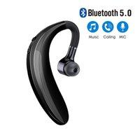 مصنع Outlet S109 سماعات رأس Bluetooth Heatfree Earloop Headset Contriped Call Sports Earphones مع MIC لجميع الهواتف الذكية