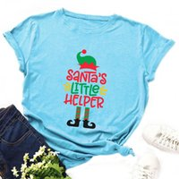 Women's T-Shirt Women Summer T Shirt 100% Cotton Plus Size 5XL Funny Christmas Letters Print O-Neck Short Sleeve Casual Lady Tee Tops
