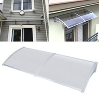 Tentes et refuges porte auvent auvent abribon porche de la pluie toit arrière arrière patio hotte extérieure couverture protection polycarbonate protection