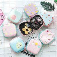 Storage Bags USB Cable Organizer Headphone Bag Portable Data Charger Headset Box U Disk Shield Zipper Pouch