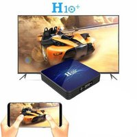Android 9.0 H10+ Smart TV Box Dual Band Bluetooth 4.0 2+16G Set Top Boxes LED Display WIFI 4K Media Player