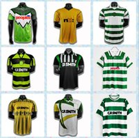 Retro Moravcik Celtic Soccer Jerseys Classic 94 95 96 97 98 01 02 05 06 Dalglish Larsson Jackson Nakamura Camisetas de fútbol