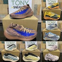 2021 Kutusu + Yeşil Tag Kanye Ayakkabı V1 V2 Eremiel Vanta Kany 700 Güneş Statik Erkek Bayan Batı Mnvn Erkek Spor Tasarımcıları Ayakkabı Atletizm Sneakers 36-47 Boost