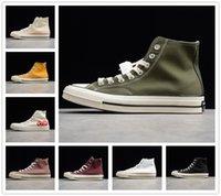 Converse 1970 shoes 2021 Nouvelle marque britannique marque joint J.W.Chuck Run Star Hike1970S Super Sponge Cake Zigzag bas bas baskets de canvas de haut niveau