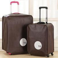 Комплекты туалетных комплектов нетканые туристические багажные крышки защитный чемодан чемодан для 20/24/28 дюймов
