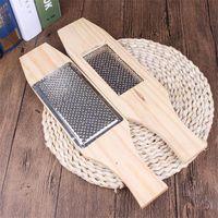 10pcs Set Wood Metal Garlic Press Manual Garlic Grater Ginger Press Kitchen Green Accessories Garlic Chopper Tool OWF7033