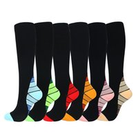 Socks & Hosiery Compression For Men And Women 20-30 MmHg Nursing Athletic Travel Flight Shin Splints Knee High Over