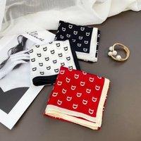 100% высокое качество шелковица шелковидной шелковой простых крепов атласный шарф 50 * 50Com весна и летняя дикая леди лента различные литературные маленькие ленты шарф