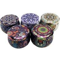 Renkli Çiçek Tasarım Çocuk Şeker Çerez Kutusu El Yapımı Sabun Mum Can Paketleme Kalay Kutusu Uygun ve Pratik Ev Depolama