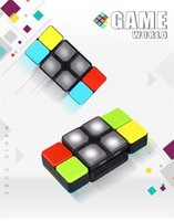 Fidget Oyuncaklar Müzik Hiç Değişen Sihirli Küp Eğitim Oyuncak Aydınlık Sondalık Oyun Konsolu, Egzersiz Çocuk Uygulamalı ve Düşünme Becerileri