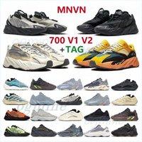 2021 Desert Rat kanye west 700 men s womens Cream Inertia Salt Utility Black Solid Grey Mauve V2 Static Vanta Sneakers 36-46 5d4a2