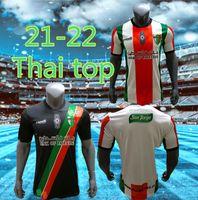 S-2XL 2021 Palästina Fussball Jersey 2122 Thailändische Qualität Überleben Palästinenser Palästinenser Palästino Rosende Fußballhemd