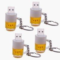 Высокое качество Мини забавная пивная бутылка USB-флэш-накопитель Pen Drive 4 ГБ 8 ГБ 16 ГБ 32 ГБ 64 ГБ USB2.0 Key Memoria Pendrive Компьютерный подарок