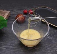 Huevo batidor de acero inoxidable huevo agitación manual huevo batidor mezclador masilla batidor huevos batidor cocina hornear utensilio herramienta EEB3801