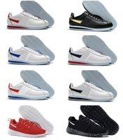 Classic Cortez نايلون RM الاحذية والأحذية الوردي أسود أحمر أبيض أزرق خفيف الوزن Tanjun 2.0 تشغيل لندن الأولمبية تنفس شبكة Chaussures Cortezs جلد BT QS أحذية رياضية