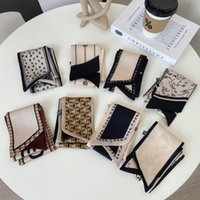 2021 Women's Fashion Scarf, Headband, Handbag Scarfs, soft touch 100% Polyester material size 9*125cm