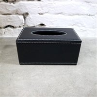 luxury design Tissue Boxes high quality home Napkin hotel leather car pumping box new