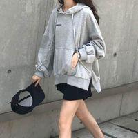 Women's Hoodies & Sweatshirts Oversized Hoodie Women 2021 Autumn Long-sleeved Clothes Tops Students Korean Style Trendy Loose Hooded Spring