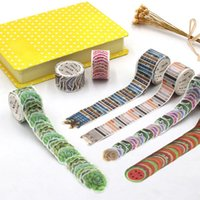 200pcs Roll Flower Petals Washi Tape Scrapbooking Decorative Adhesive Tapes Paper Stationery Sticker Gift Wrap