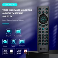 G20S Pro G20BTS Plus G20S Voice Remote Control 2.4GHz Wireless Mini Keyboard Air Mouse Gyro for Android TV Box H96 MAX X96 MINI