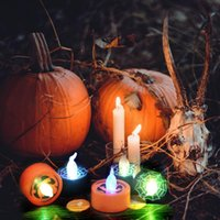 Party Decoration Halloween Lantern Bar Decorations Led Lighting Venue Props Candle Luminous Toys