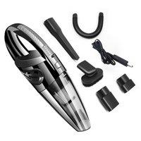 Aspirador de automóviles Portátil Handheld Hogar Potente Ciclone Húmedo Dry Wireless 120W Utilice USB Limpiadores Durables Cargables