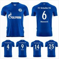 21 22 FC Schalke 04 Futbol Formaları Serdar 2021 2022 Raman Futbol Gömlek Harit de Foot