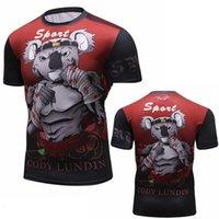 K8 T Shirts Bjj Rashguard Hommes Compression Compression Overhirt MMA Fitness Spier Fight Top Muay Thai Tees Jiu Jitsu Fightwear