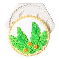 Cuocere strumenti di pasticceria torta muffa creativo piuma forma diy sapone in silicone fai da te sapone per dolciumi