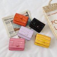 أطفال مصمم مصمم حقائب مصغرة أزياء الأطفال إلكتروني سلسلة معدنية واحدة حقيبة الكتف ins طفل الفتيات بو رسول حقائب F201