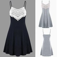 Robes Qualité Girl Fashion Note Imprimer Mouwloze High andow Bas Ee Gilet Vest Femmes