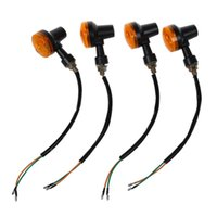 Cinq doigts Gants 4 pcs Moto Moto Amber Turn Turn Signal Signal Ampoule Indicateur 12V