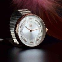 럭셔리 남성과 여성 시계 디자이너 브랜드 시계 Ouleurs, Quartz Japonais Lgant, Montre de Luxe En Acier inoxydable, Cadeau Femme