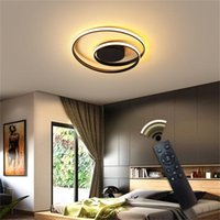 Ceiling Lights 86LIGHT Led Round Fixtures With Remote Control 3 Colors Brightness Adjustable And Dimmable For Home