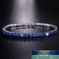 Cubic Zirconia Tennis Bracelet Iced Out Chain Bracelets for Women Men Gold Silver Color Men Bracelet CZ Chain Homme Jewelry