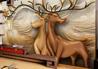 2021 Custom 3D Wallpaper Papel De Parede Living Room Bedroom animal Home Decor Stereoscopic Decoration Mural