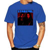Мужские футболки Lana del Rey Stargirl The Wendnd Logo Black Tee Men Женщина футболка S M XL 2XL Женская футболка