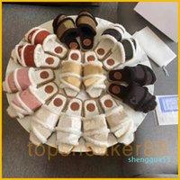 Chol Baumwollschuhe Frauen Winter Sandalen Mode Weiße Schwarz Rot Warme Schuhe