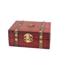 Tamanho pequeno Vintage Jóias Caixa de Armazenamento de Madeira Decorativo Chinês Fir Tesouro Batons Exibição de Jóias Presente Caso Bolsas, Sacos