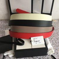 Homens Designers Cintos Moda Couro Genuíno Mulher Mens Letra Double G Fivela Cinto Cinturones de Diseño Mujeres Largura 4.0cm com caixa