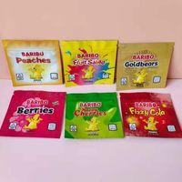 600mg sacos de embalagem Baribo Medicated Resealable Comestível Doces Gummy Mylar Mylar Edibles Gummies Pacote B