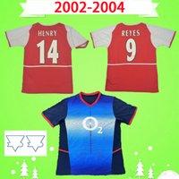 arsenal Jersey 7 Kesme 10 Bergkamp 14 Henry 9 Reyes 2002 2003 Retro Futbol Jersey Klasik Hatıra Antik Koleksiyon Futbol Gömlek 02 03 Gilberto Cole
