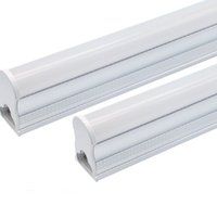 T5 tubes 1FT 2FT 3FT 4FT,5FT 14w 18w 36w 2200lm, 6000K (Super Bright White) 20W Utility Shop Light, Ceiling and Under Cabinet Light Corded Electric with Built-in ON Off Switch