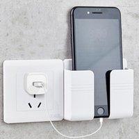 Teléfono móvil Enchufe Caja de almacenamiento Hangos Montado en pared Control remoto Móviles Tapones Tapones Carga multifunción Soporte de soporte Rieles HH21-251