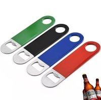 Abrebotellas de botella 4 colores hoja breve PVC Cerveza Abres de vino Bebida Bebida Botella Cocina Gadget WLL451