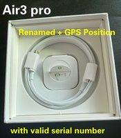 Air Gen 3 AP3 PRO Auricolari Casi H1 Chip chip cerniera in metallo Carica wireless Cuffie Bluetooth PK PODS 2 AP2 AP2 W1 Auricolari 2a generazione