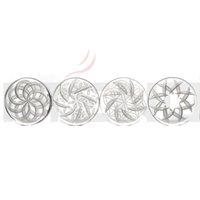 smoking accessories quartz channel caps OD 30MM, 40MM Carb Cap Flower pattern design for Flat Top banger