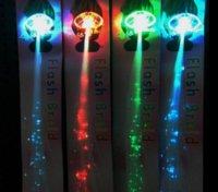 Мигающие светящиеся светлый светодиодный удлинитель для волос