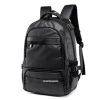 Backpack 2021 Men's Shoulder Student School Bag Male Fashion Trend Oxford Cloth Travel Youth Designer