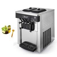 Commercial Soft Serve Ice Cream Makers Machine With Compressor Vending Machine For Milk Tea Shop 2200W